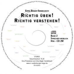 RICHTIG ÜBEN! RICHTIG VERSTEHEN! CD